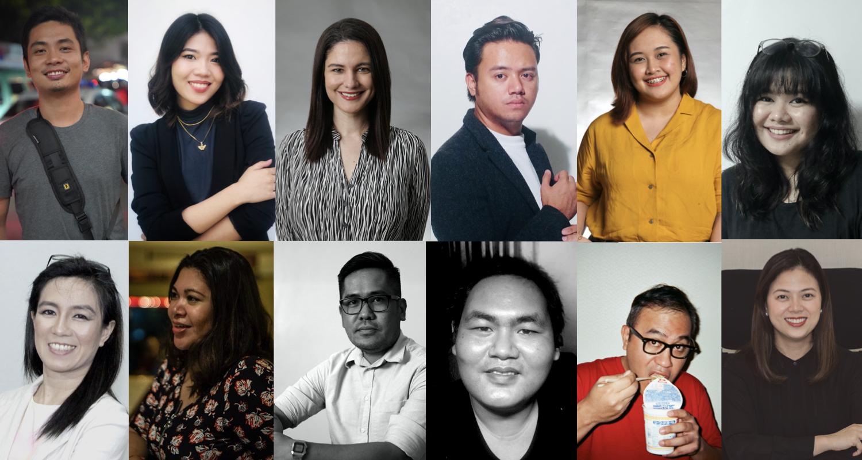 12 filmmaker headshots from Philippines