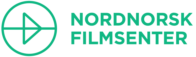 Green text with the words Nordnorsk filmsenter