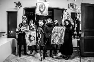 Previous Thesmophoria Event. Costumed Particpants